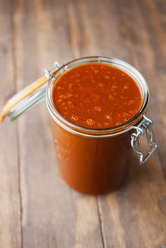 red chile (enchilada) sauce recipe | use real butter