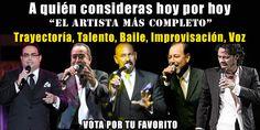 Vota por tu cantante favorito de Salsa | A Son De Salsa