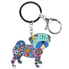 Item Type: Key ChainsFine or Fashion: FashionMetals Type: Platinum Plated,Zinc AlloyStyle: ClassicModel Number: color: Rhodium PlatedCompatibility: A Funny Dogs, Cute Dogs, Dog Whistle, Dog Jewelry, Cat Supplies, Gadget Gifts, Pug Life, Little Dogs, Key Rings