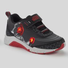 Star Wars Darth Vader Toddler Boys' Light-Up Sneakers $14 (w/ Kohl Card) #LavaHot http://www.lavahotdeals.com/us/cheap/star-wars-darth-vader-toddler-boys-light-sneakers/60536