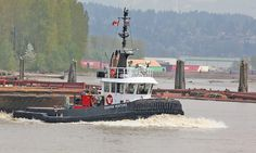 Fraser River Tug by tocopixel, via Flickr