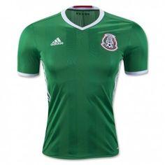 2016 Mexico Home Green Thailand Soccer Jersey Equipes Nacionais De Futebol 3272fc1462923