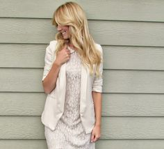 Chic of the Week: Ashley's Rustic Lace Look via Lauren Conrad