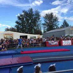 Flipping for Denali Gymnastics! #AlaskaStateFair