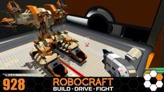 Robocraft - Tank Mech 'Big Brother' Build