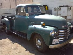#1953 #Chevy 3100 #Pickup in for overheating problem. We are the radiator repair shop for all classics!