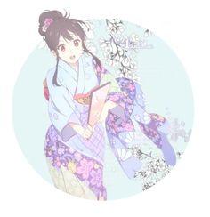 """Kyoukai no Kanata /2/"" by happydanielle ❤ liked on Polyvore featuring art"