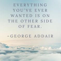 Everything you've ever wanted is on the other side of fear. –George Addair https://digitalmarketingwebdesign.com/everything-youve-ever-wanted-side-fear-george-addair/ #Creative, #Inspiration, #Motivation, #Quote, #Quotes