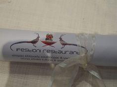 #Greek #Degustation #Menu at Ifestioni Restaurant