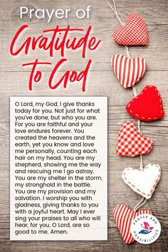 A daily prayer of gratitude to God. Pray to give thanks and praise to God for who he is and the work he's doing in your life. Prayer Of Praise, Prayer Of Thanks, Giving Thanks To God, God Prayer, Power Of Prayer, Daily Prayer, Give Thanks, Prayer Room, Prayers Of Gratitude
