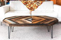 Our coffee table - excited!!