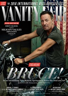 Cover Story: The Book of Bruce Springsteen For 50 years, the rock icon has turned his struggle into songs, his unrest into performance. Today, as he wraps up a top-selling tour and publishes a 500-page memoir, he is coming to terms with life out on the wire.