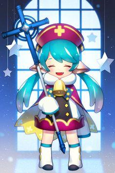 카드 이미지 : 네이버 블로그 Cute Anime Chibi, Kawaii Chibi, Kawaii Art, Game Character, Character Concept, Chibi Games, Cute Kawaii Drawings, Anime Kunst, Anime Angel