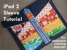 ocd: obsessive crafting disorder: Tutorial: iPad 2 sleeve