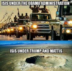 ISIS under Obama or Trump: Can you spot the subtle difference?