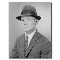 Portrait of Man Post Cards