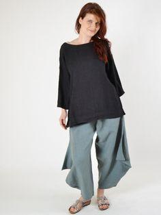 Heavy Linen Resort Shirt by BRYN WALKER