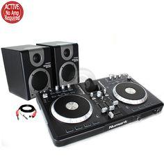 Alesis M1Active 320 Speakers Studio Numark iDJ3 Digital USB Midi Controller Pod from Electromarket.co.uk