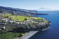 Spanien, Balearen, Kanaren - La Gomera - Playa de Santiago - Hotel Jardin Tecina - Landschaft
