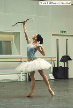 A good rehearsal tutu...Natalia Osipova.  The bow is such a nice shape.