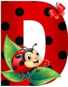 Ladybug Art, Ladybug Crafts, Alphabet Art, Alphabet And Numbers, Lady Bug, Cartoon Lion, Stylish Alphabets, Clip Art Pictures, School Posters