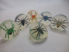 Toy Spider Soap (10 pk) - Halloween Party Favor - Fun Moisturizing Soap - Kids Gift - Handmade Glycerin Soap - Childrens Soap - Homemade