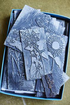 Alun Callender | Christopher Brown – The art of the linocut