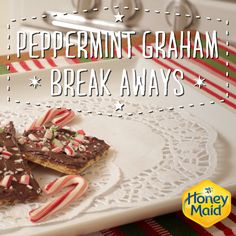 Candy canes, chocolate chips and graham crackers–what else can you ask for? Try our delicious recipe for Peppermint Graham Breakaways. A sure-fire hit for any holiday party!