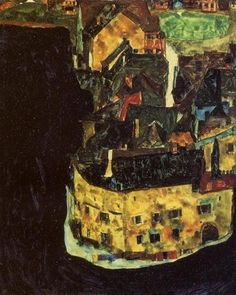 비극적인 에로티시즘 드로잉 / 에곤 쉴레 (Egon Schiele) Zerfallende Mühle (Old Mill), 1916 Self Portrait, 1912 Russian prisoner of