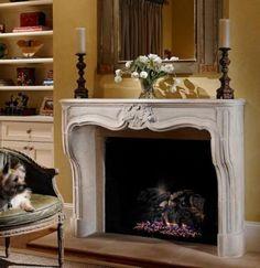 Mantel  Decorations : IDEAS &  INSPIRATIONS : Fireplace Mantels Decorating Ideas