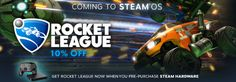 Noted: Rocket League is coming to SteamOS and its free if you buy a Steam Machine Steam Link or Steam C
