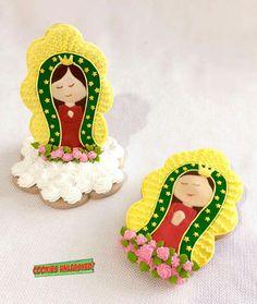 Virgen de Guadalupe Cookies