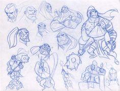 ARES sketches 1 by dfridolfs.deviantart.com on @deviantART