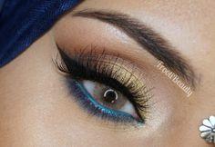 frootibeauty: FFF: Urban Decay x Gwen Stefani Palette Makeup Look