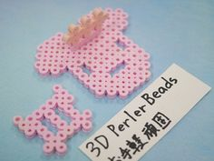 2017_1103_150907p1170721 3d Perler Bead, Perler Beads, Silicone Molds, Paper, Projects