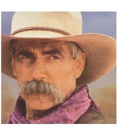 Sam Elliot    All this man would have to do is sit on the side of my bed and talk to me.