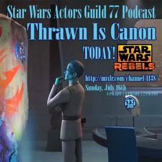 """Grand Admiral Thrawn: Learn About Art @SWAG_77 #StarWars #Podcast 
