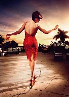 Penelope Cruz in the Campari 2013 Calendar by Kristian Schuller