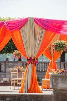 VIBRANT INDIAN WEDDING BY THE FALLS | Elegant Wedding