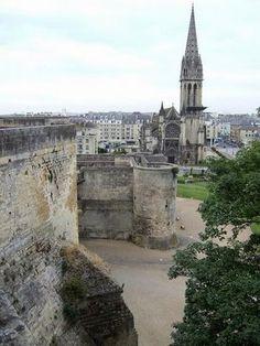 Caen, Normandy Region of France