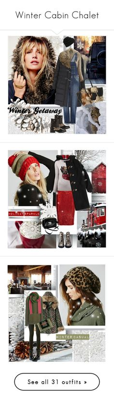 """""""Winter Cabin Chalet"""" by stylepersonal ❤ liked on Polyvore featuring Free People, Just Cavalli, Dsquared2, Marni, River Island, Salvatore Ferragamo, Neff, Leith, getaway and wintertrend"""