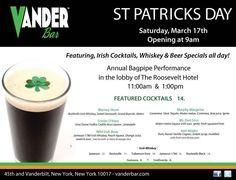 St. Patrick's Day Celebration - Promo Event