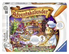 Ravensburger 00738 - tiptoi - Adventskalender 2015 - In der Weihnachtsbäckerei: Amazon.de: Spielzeug