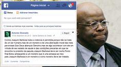 PF identifica um dos autores de ameaças de morte a Joaquim Barbosa - Brasil - Notícia - VEJA.com
