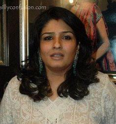 Raveena Tandon without makeup