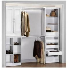 Home Decorators Collection Manhattan 2-Door Wood Modular Storage Cabinet in White 0380210410 at The Home Depot - Mobile