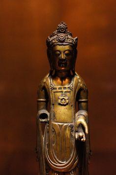 an important cultural asset of Japan, Bosatsu standing statue, Asuka period…