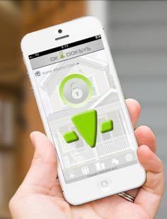 Control access to your home with the Okidokeys smart lock and companion app for iOS and Android