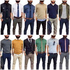 12 maneras de vestir