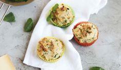 Käse-Spinat-Muffins: Das Rezept aus Enie backt